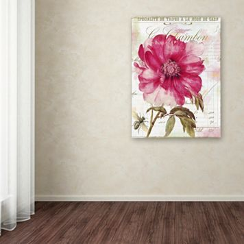 Trademark Fine Art Lepink With Bee Canvas Wall Art