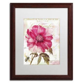 Trademark Fine Art Lepink With Bee Framed Wall Art