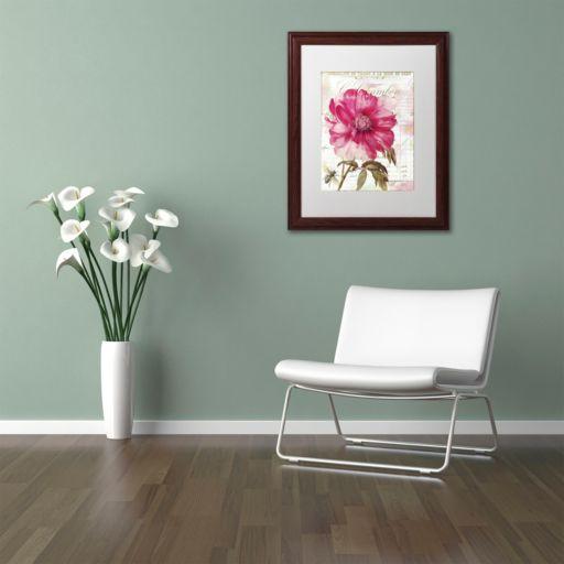 Trademark Fine Art Lepink With Bee Framed Wall Art