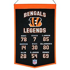 Winning Streak Cincinnati Bengals Legends Banner