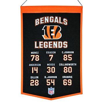 Winning Streak Cincinnati Bengals Legends Banner