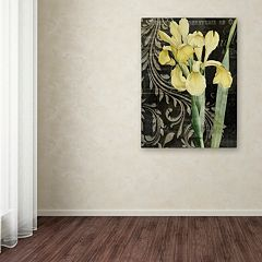 Trademark Fine Art Ode To Yellow Canvas Wall Art