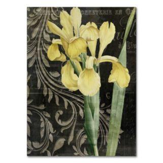 Trademark Fine Art Ode To Yellow Canvas Wall Art