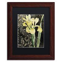 Trademark Fine Art Ode To Yellow Framed Wall Art