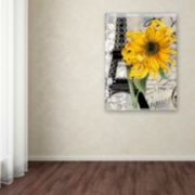 Trademark Fine Art Paris Blanc Canvas Wall Art