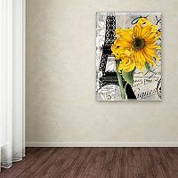 Trademark Fine Art Paris Blanc Canvas Wall Art