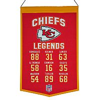 Winning Streak Kansas City Chiefs Legends Banner
