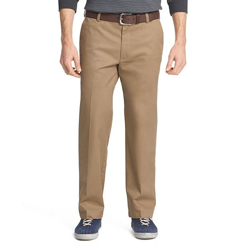 31e2836b85991f Men's IZOD American Chino Straight-Fit Wrinkle-Free Flat-Front Pants