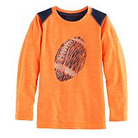 Boys 4-10 Jumping Beans® Sporty Pieced Long Sleeve Tee