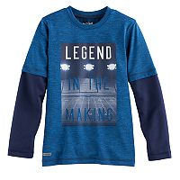 Boys 4-10 Jumping Beans® Sporty Playcool Mock Layer Tee