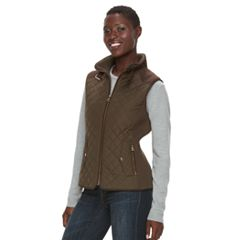 Women's Gallery Quilted Ribbed Vest