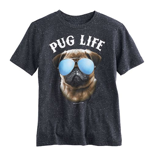 Boys 8-20 Pug Life Tee