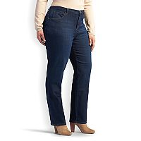 Plus Size Lee Relaxed Straight Leg Jeans