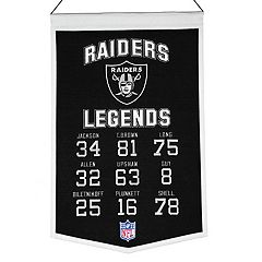 Winning Streak Oakland Raiders Legends Banner