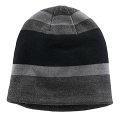 Boys Tek Gear® Striped Sherpa-Lined Beanie