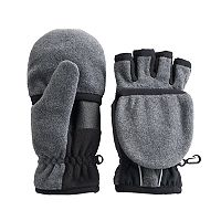 Boys 4-20 Tek Gear WarmTek Convertible Flip-Top Mittens