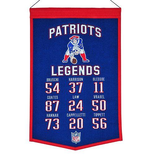 Winning Streak New EnglandPatriots Legends Banner