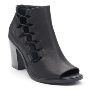 SO® Charge Women's Peep Toe Ankle Boots