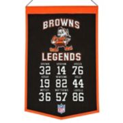 Winning Streak Cleveland Browns Legends Banner