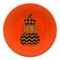 Fiesta Geo Pumpkins 9-in. Luncheon Plate