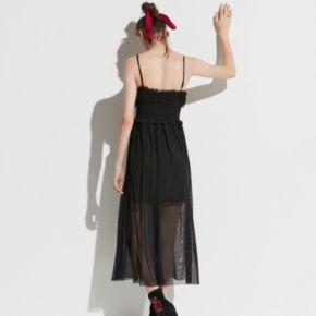 k/lab Mesh Slip Dress