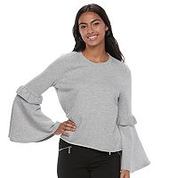 Juniors' Candie's® Bell Sleeve Sweatshirt