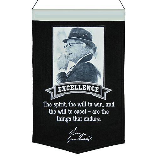 Winning Streak Vince Lombardi Excellence Banner