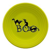 Fiesta Trio Of Boo Cats 9-in. Luncheon Plate