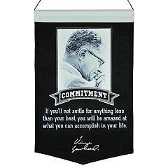 Winning Streak Vince Lombardi Commitment Banner