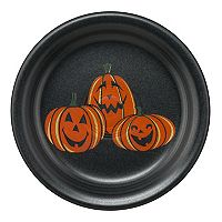 Fiesta Trio Of Happy Pumpkins Appetizer Plate