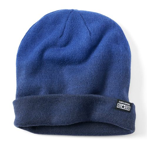 Unisex Converse Ombre Rolled Cuff Beanie