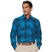 Men's Columbia Highland Home Classic-Fit Plaid Flannel Button-Down Shirt