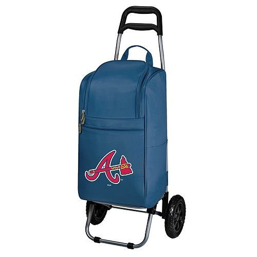 Picnic Time Atlanta Braves Cart Cooler