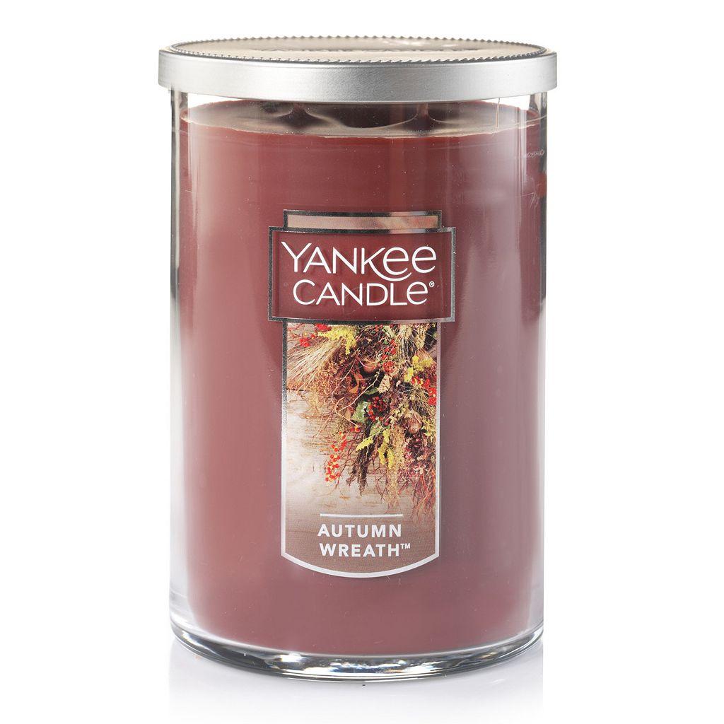Yankee Candle Autumn Wreath Tall 22-oz. Candle Jar