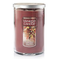 Yankee Candle Autumn Wreath Tall 22-oz. Candle Jar