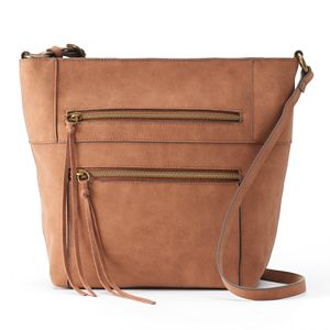 SONOMA Goods for Life™ Ziggie Triple Entry Crossbody Bag