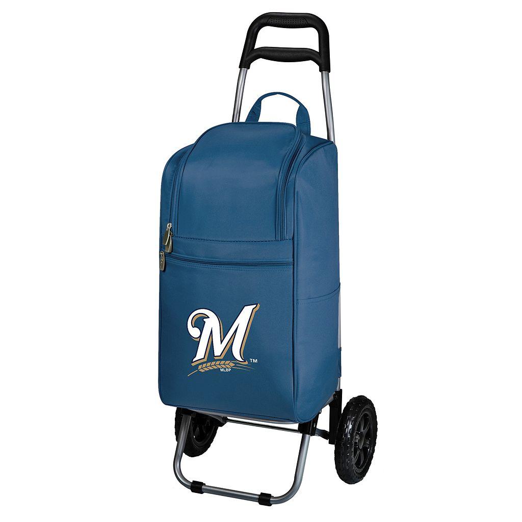 Picnic Time Milwaukee Brewers Cart Cooler