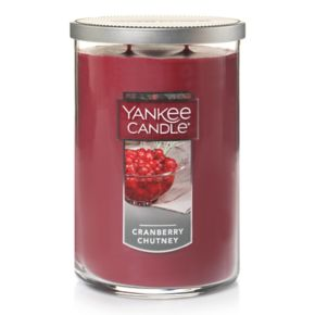 Yankee Candle Cranberry Chutney Tall 22-oz. Candle Jar