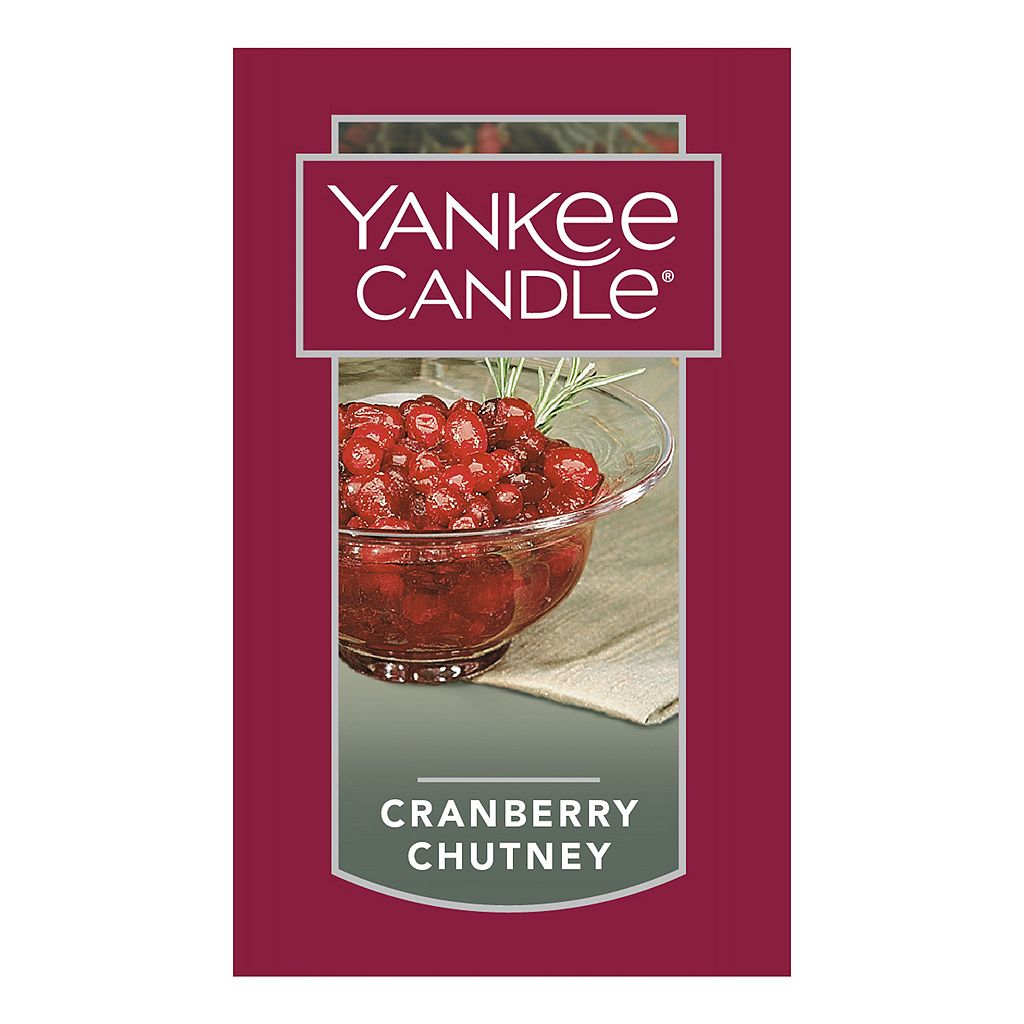 Yankee Candle Cranberry Chutney Tall 22-oz. Candle Jar