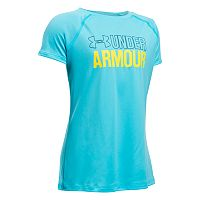 Girls 7-16 Under Armour UA Wordmark Short Sleeve Tee