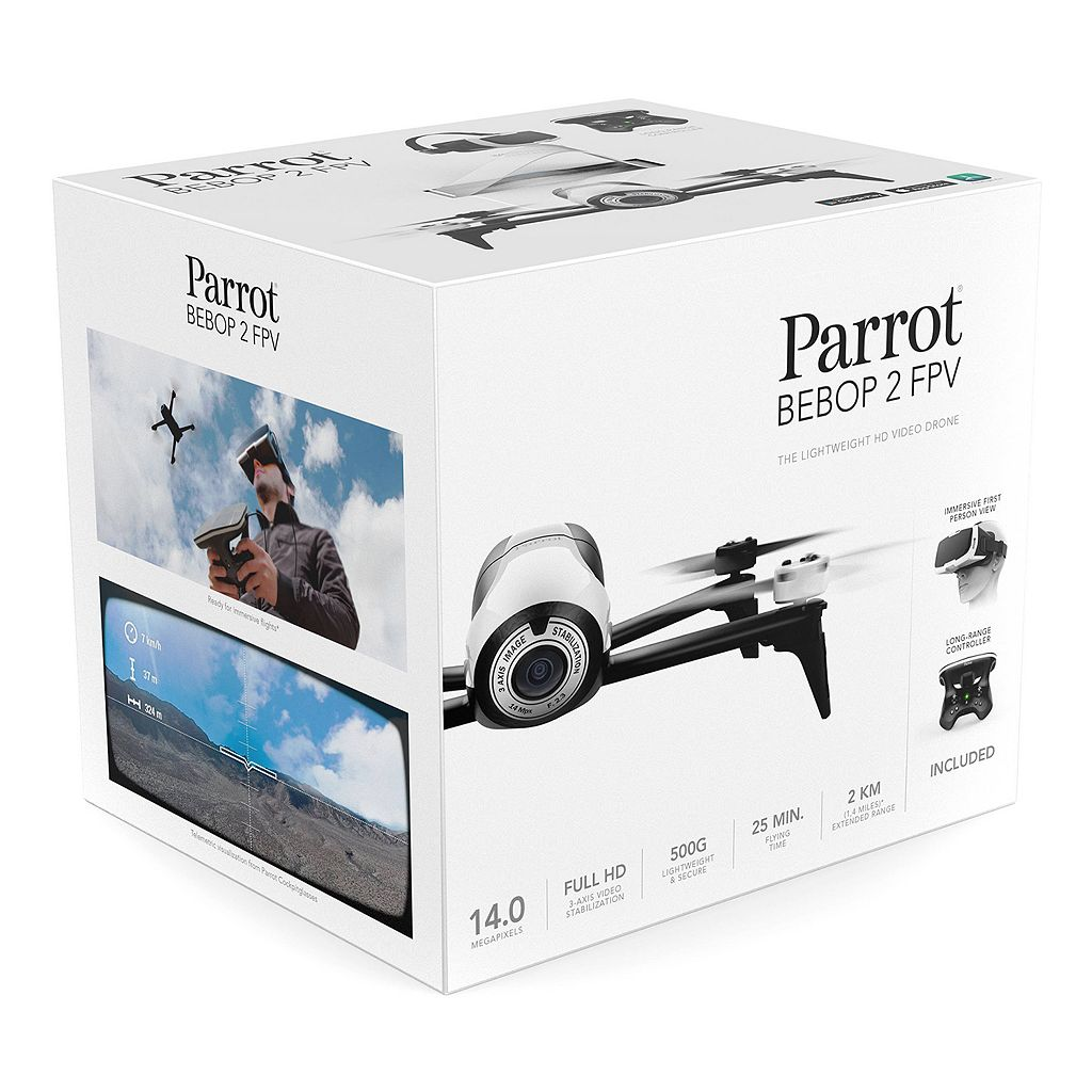 Parrot BEBOP 2 FPV HD Video Drone