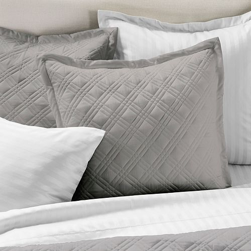 Chaps Damask Quilted Euro Sham