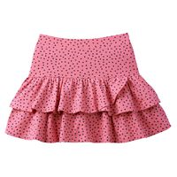 Girls 4-10 Jumping Beans® Dolphin Hem Tiered Skort