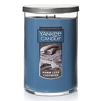 Yankee Candle Warm Luxe Cashmere Tall 22-oz. Candle Jar