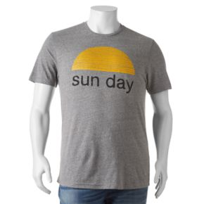 "Big & Tall SONOMA Goods for Life? ""Sun day"" Tee"