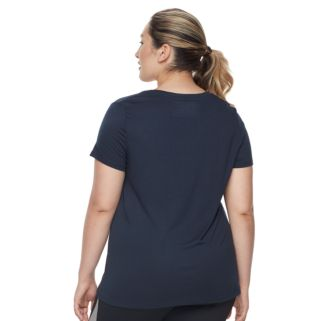 Plus Size FILA SPORT® Logo Graphic Performance Tee