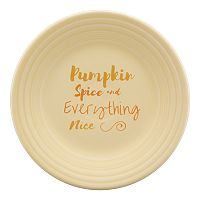Fiesta Pumpkin Spice 9-in. Luncheon Plate