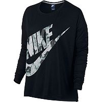 Women's Nike Long Sleeve Graphic Tee