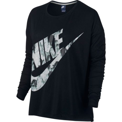 Women's Nike Long Sleeve Graphic Tee