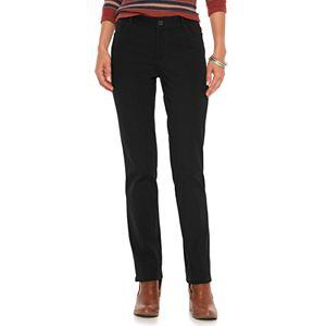 Women's Chaps Twill Straight-Leg Pants